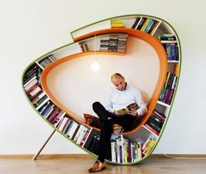 Relax a knižnica v jednom